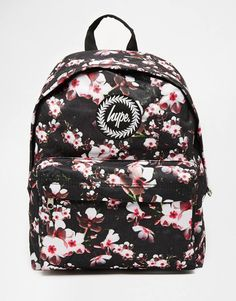 Hype Backpack in All Over Floral Print