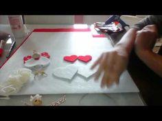 Tutorial angioletti in feltro - YouTube