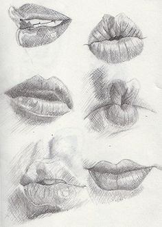 Delineate Your Lips examples of lips - March by ~Khantinka on deviantART - How to draw lips correctly? The first thing to keep in mind is the shape of your lips: if they are thin or thick and if you have the M (or heart) pronounced or barely suggested. Pencil Portrait, Portrait Drawing Tips, Drawing Techniques, Drawing People, Art Tutorials, Drawing Tutorials, Art Inspo, Pencil Drawings, Sexy Drawings