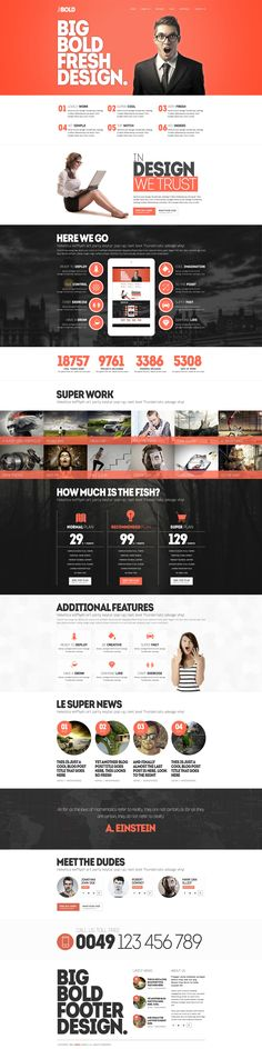 BBold Multipurpose Responsive WordPress Theme #design #web #graphics