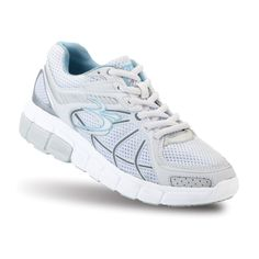 Share and Save $5 Women's Super Walk White Athletic Shoes | GravityDefyer.com