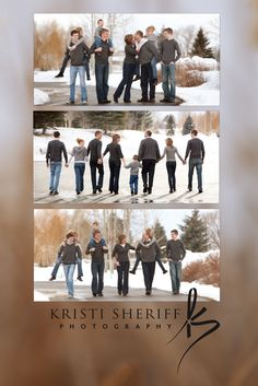 Kristi Sheriff Photography, Idaho Falls. Awesome winter family photo shoot.