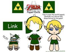 Link Paper Doll by Malindachan on DeviantArt Paper Toys, Paper Crafts, Diy Crafts, Super Mario Coloring Pages, Nerd Crafts, Paper Folding, Legend Of Zelda, Online Art Gallery, Geek Stuff