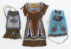 Old Plains Beaded Strike-a-Lite Bags