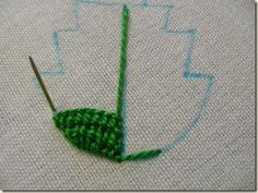 This woman's website is filled with good tutorials on Corded Detached Buttonhole in Elizabethan Embroidery.