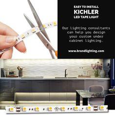 Kichler 12V LED Tape Light Installation Instructions for Dry ...