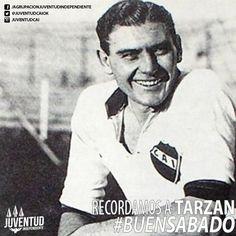 Buenos días #diablos! Tengan un muy #BuenSabado! #Tarzan, #IdolosIndependiente, #FernandoBello, #Independiente