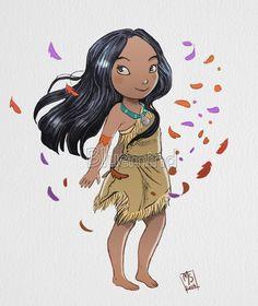Pocahontas by marianovella.deviantart.com on @deviantART
