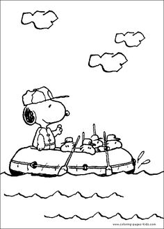 Printable Snoopy Coloring Pages For Kids Cool2bKids Cartoon