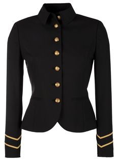 Lauren by Ralph Lauren Military Jacket