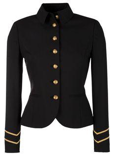Lauren by Ralph Lauren Military Jacket