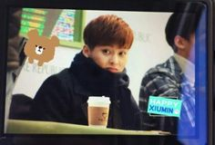 150131 nature republic fanmeeting! I went there♥ Finally, EXO came to Busan! #xiumin