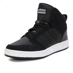 Původní nový příjezd 2017 Adidas NEO Label SUPER HOOPS MID Pánské  skateboardové boty tenisky 4f662c50ca