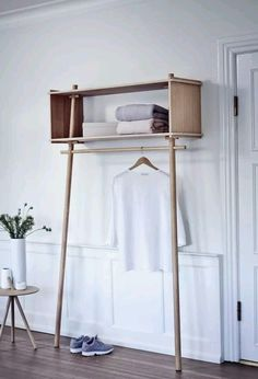 minimal clothing storage