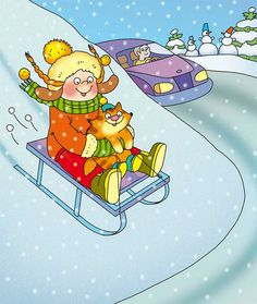 Car Racing For Kids, Ski Drawing, Winter Crafts For Kids, Birds In Flight, Kids And Parenting, Whimsical, Childhood, Snoopy, Stock Photos