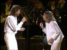 Barbra Streisand & Barry Gibb - Guilty (Live ) - YouTube