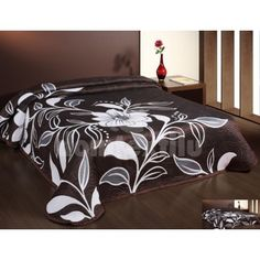 Just turn over and have a different design. This bedspread can be a stylish addition to your bedroom and also doubles up as an extra layer during the cold winter months. Bed Spreads, Bed Sheets, Bedding Sets, Comforters, Home And Garden, Blanket, Bedroom, Luxury, Furniture