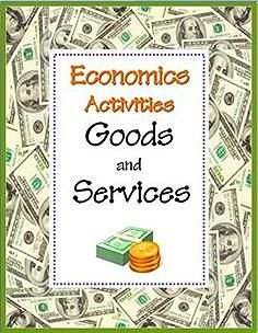 FREE GOODS AND SERVICES Activity Sheets~ Pinto and go!  Goods and Services Economics worksheets to introduce or review key concepts!  Companion products also available.  #goods #services #economics