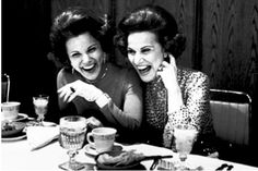 Ann Landers and Abigail Van Buren:  identical twins, They became famous for their Dear Abby column.