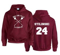 Stiles+Stilinski+24+Teen+Wolf+Custom+Crewneck+Hoodie+Sweatshirt+for+Unisex+adult