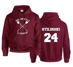 Stiles+Stilinski+24+Teen+Wolf+Custom+Crewneck+Hoodie+Sweatshirt+for+Unisex+adult
