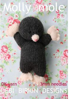 Rat toy knitting pattern- lets be real I will need to ...