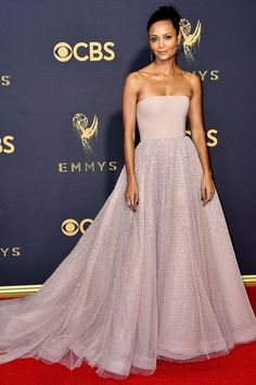 Thandie Newton in Jason Wu at the 2017 Emmys