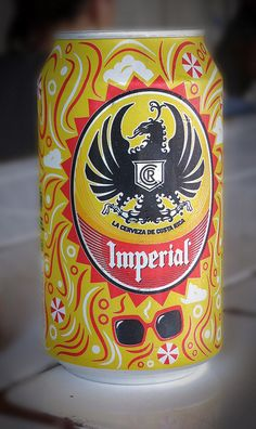Costa Rica IMPERIAL: Dont drink cerveza (beer), But Remember this beer when I was there. Costa Rican Food, Living In Costa Rica, Beers Of The World, Beer Brands, Craft Beer, Vacation, Country, Mexican Beer, Main Squeeze