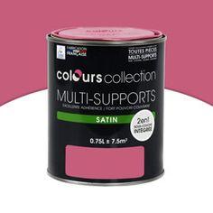Peinture multi-supports Pétunia Satin 0,75L