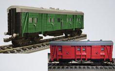 Backdated Lego Southern Railway Vans by Michael Gale