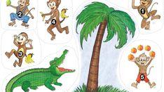 apan-krokodilen Music For Kids, Kids Songs, Art For Kids, Nursery Rhyme Crafts, Nursery Rhymes, Educational Activities For Kids, Toddler Activities, Preschool 2 Year Old, Preschool Library