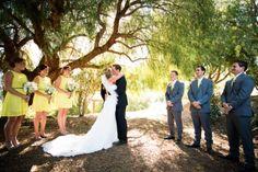 Ariel wedding photography