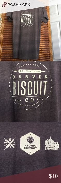 Denver Biscuit Company TSHIRT Bought and it's never been worn Shirts Tees - Short Sleeve