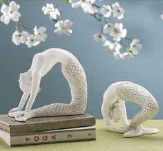 Yoga Mermaids book-ends explorando nuevas formas