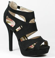 These heels are so beautiful and simple that they will go with anything!