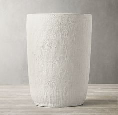 RH's Textured Terra-Cotta Vessel - Tall:Bold in scale, our hand-thrown terra-cotta vessel is finished with a textural, matte glaze that lends rustic appeal to the sculptural form. Storage Mirror, Bath Storage, Modern Rugs, Modern Decor, Linen Shop, Modern Shop, Medicine Cabinet Mirror, Living Room Remodel, Rug Sale