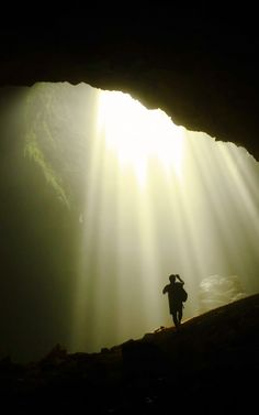 Go vertical caving in Yogyakarta, Indonesia.