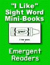 Sight word mini books 5.99