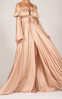 Ava Maxi Dress in Nude by The Dolls House on The Dolls House 8f6537776