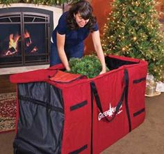 How To Make A Christmas Tree Storage Bag | Trees, Christmas Trees And As