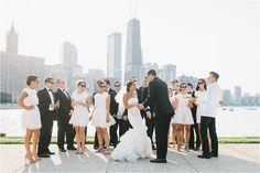 Julie & Chris | Chicago Wedding at River Roast