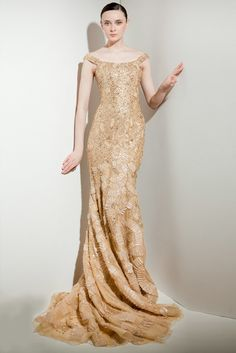Reem Acra Pre-Fall 2011 Fashion Show - Sacha Blue