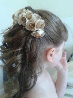 Peinados paso a paso para primera comunion