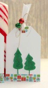 holiday christmas tags