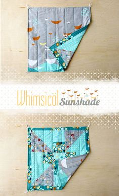 how to make an easy sunshade
