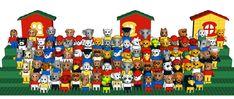 Lego Fabuland. I had them all because animals.