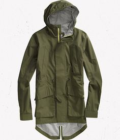Burton raincoat.