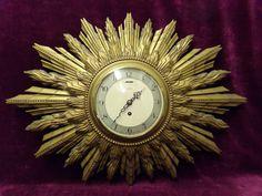 stunning 1930s ART DECO Smiths sunburst clock