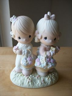"""1985 Precious Moments """"To My Forever Friend"""" Figurine"""