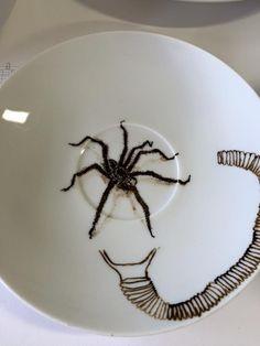 Spinnenbordje